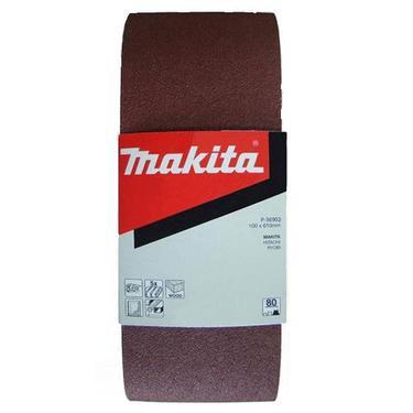 Лента шлифовальная бесконечная MAKITA 100 X 610 мм, K60, 5 шт.