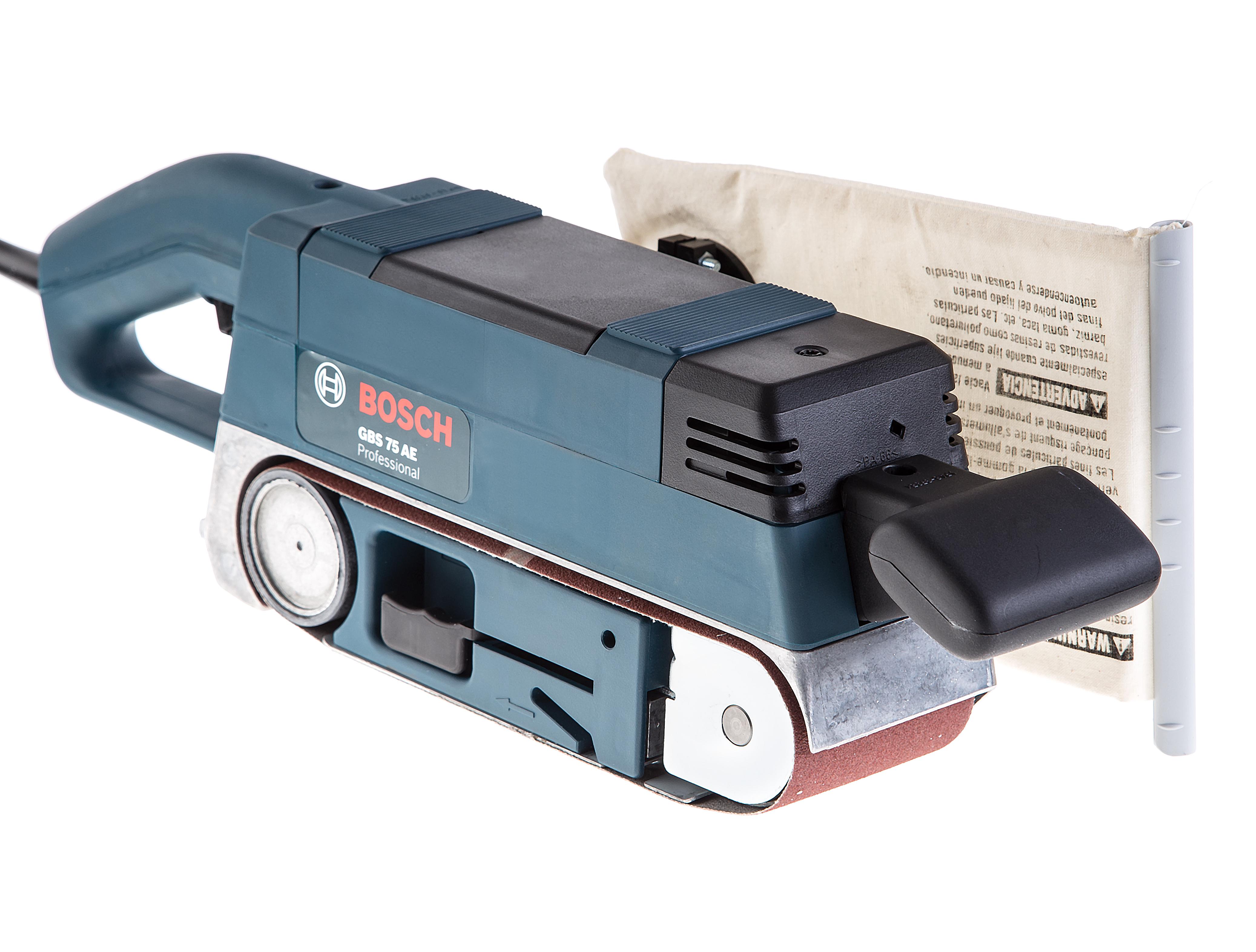 Фотография товара Машинка шлифовальная ленточная Bosch