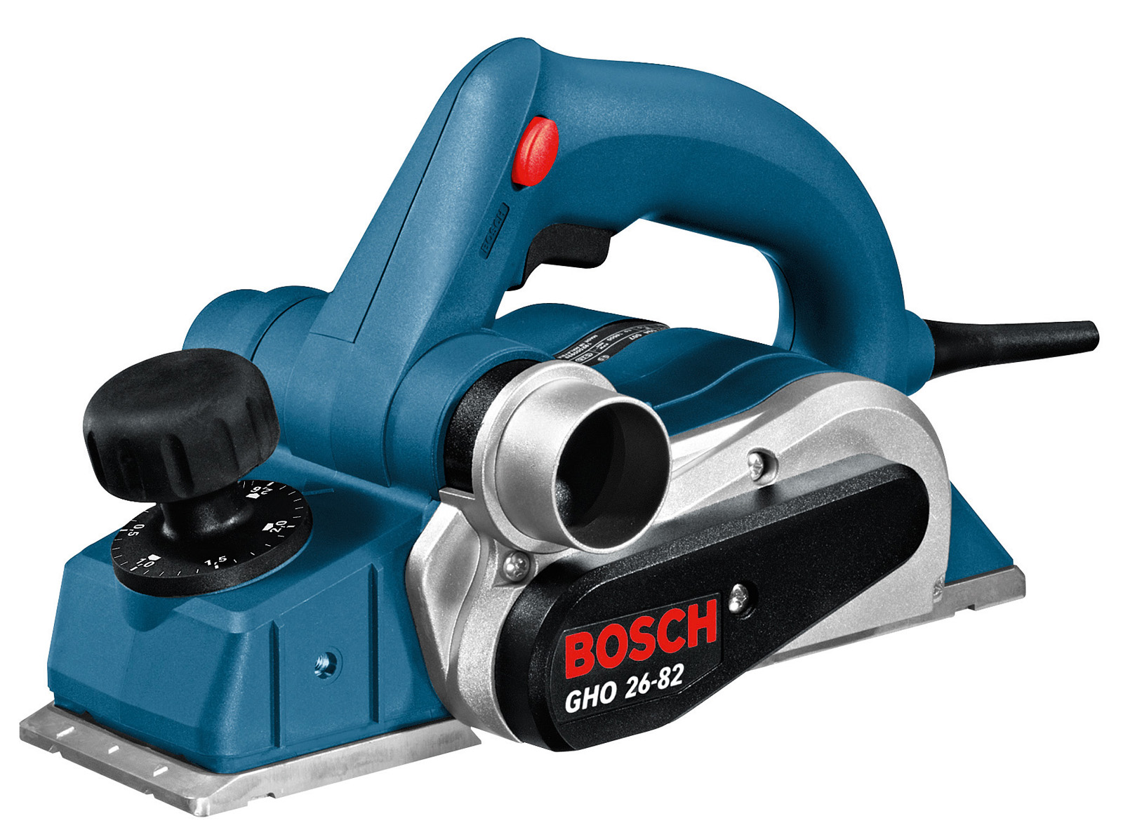 Рубанок Bosch Gho 26-82 (в кейсе)
