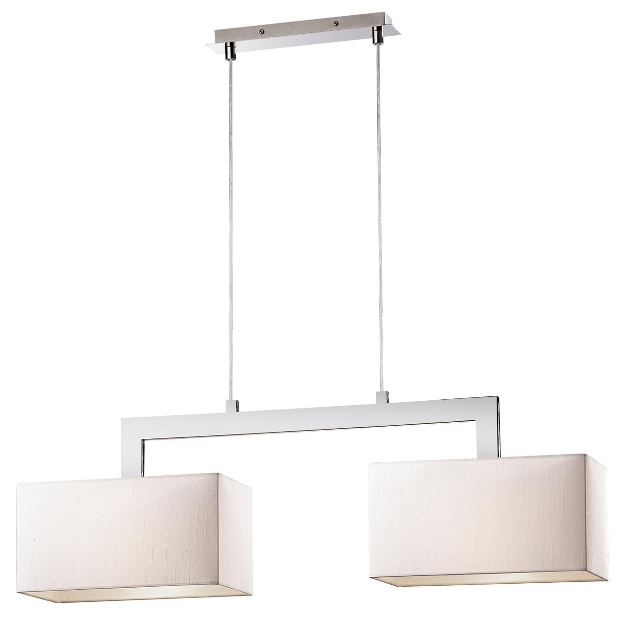 Светильник подвесной Odeon lightСветильники подвесные<br>Количество ламп: 2,<br>Мощность: 60,<br>Назначение светильника: для комнаты,<br>Стиль светильника: модерн,<br>Материал светильника: металл, стекло,<br>Диаметр: 740,<br>Высота: 1446,<br>Ширина: 740,<br>Тип лампы: накаливания,<br>Патрон: Е27,<br>Цвет арматуры: хром<br>