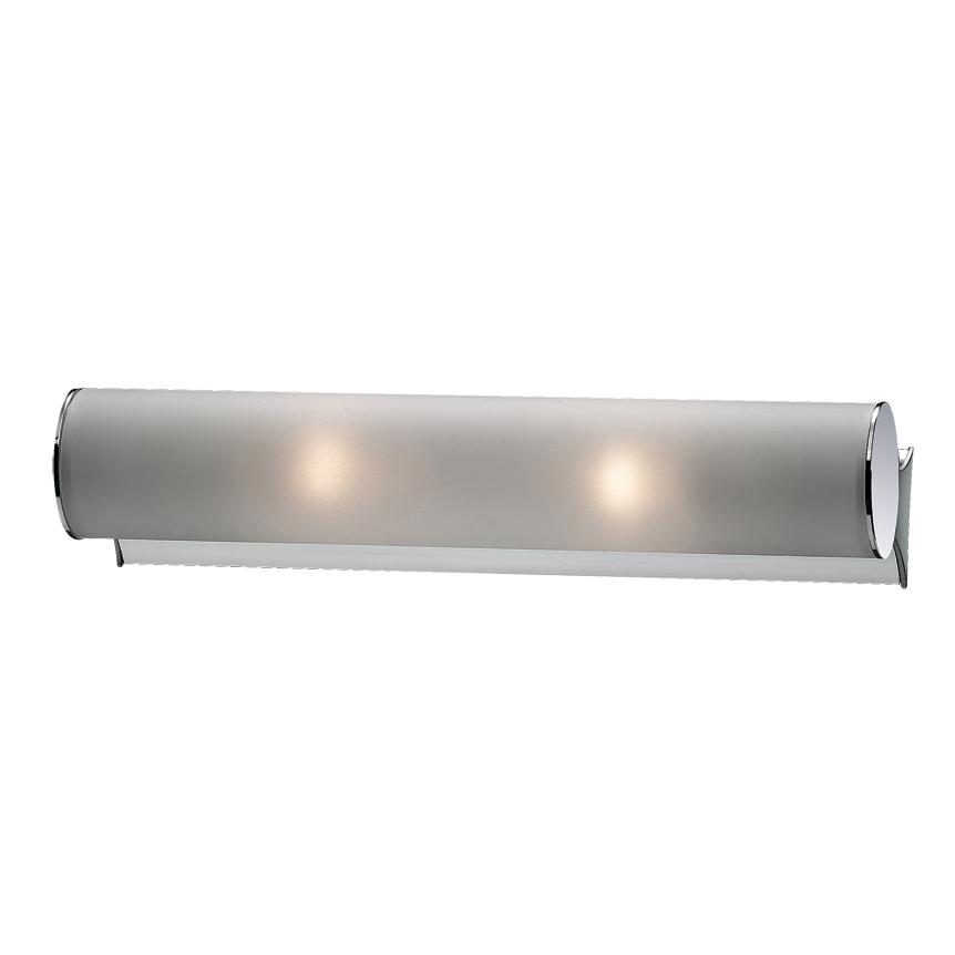 Светильник настенно-потолочный Odeon lightСветильники настенно-потолочные<br>Мощность: 40,<br>Количество ламп: 2,<br>Назначение светильника: для комнаты,<br>Стиль светильника: модерн,<br>Материал светильника: металл, стекло,<br>Тип лампы: накаливания,<br>Длина (мм): 320,<br>Высота: 60,<br>Патрон: Е14<br>