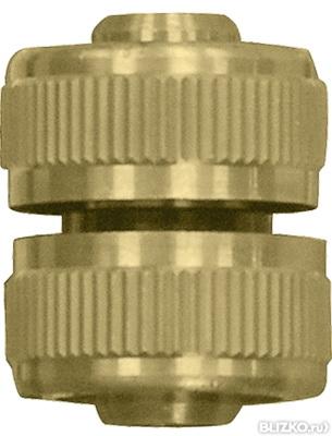 Муфта КРАТОНСоединительные элементы и фильтры<br>Тип элемента: муфта, Диаметр на выходе (в дюймах): 1/2, Материал: латунь<br>