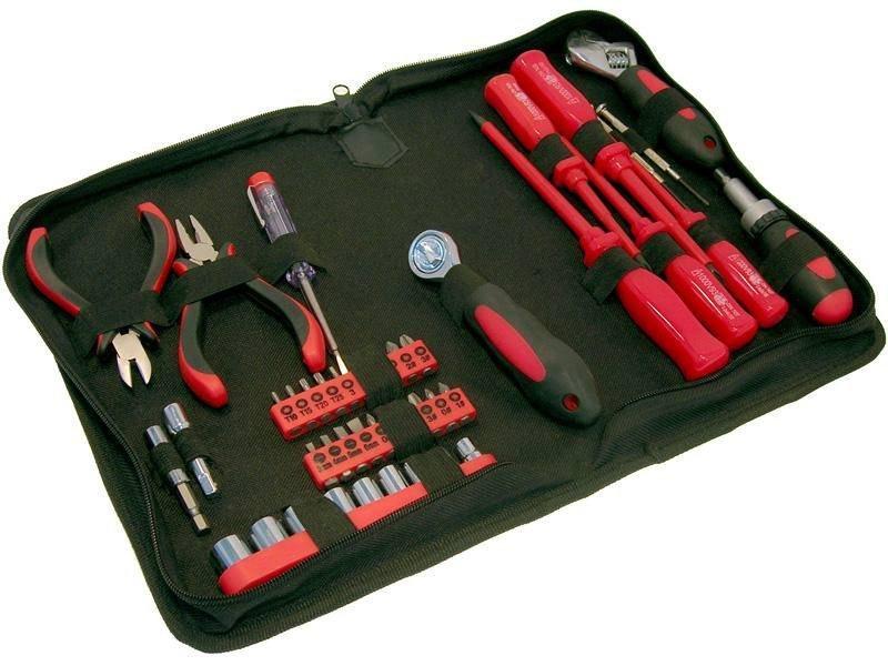 Набор инструментов, 45 предметов Fit