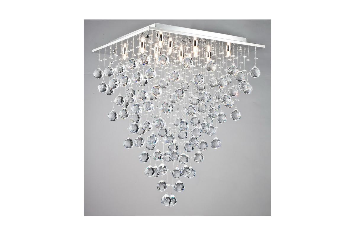 Люстра MaytoniЛюстры<br>Назначение светильника: для гостиной, Стиль светильника: модерн, Тип: потолочная, Материал светильника: металл, Материал арматуры: металл, Ширина: 600, Диаметр: 600, Высота: 760, Количество ламп: 12, Тип лампы: галогенные и светодиодные, Мощность: 40, Патрон: G9, Цвет арматуры: хром, Родина бренда: Германия, Коллекция: mod217<br>