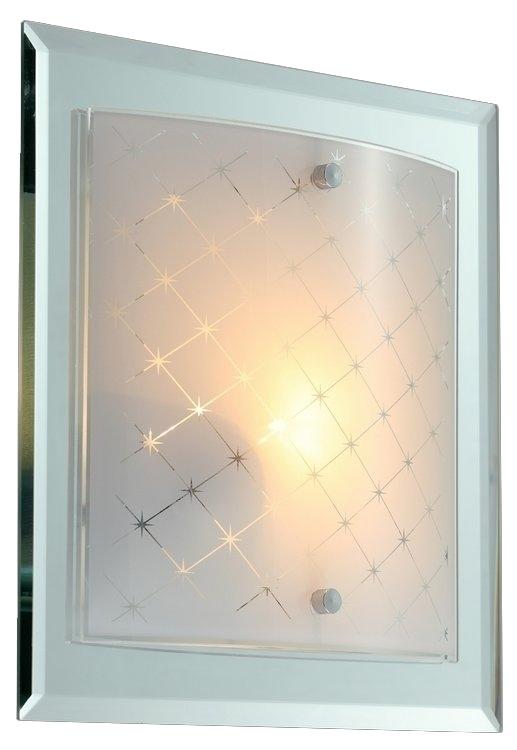 Светильник настенно-потолочный MaytoniСветильники настенно-потолочные<br>Мощность: 60,<br>Количество ламп: 1,<br>Назначение светильника: для комнаты,<br>Стиль светильника: модерн,<br>Материал светильника: металл, стекло,<br>Тип лампы: накаливания,<br>Ширина: 270,<br>Высота: 90,<br>Диаметр: 270,<br>Патрон: Е27,<br>Цвет арматуры: хром<br>