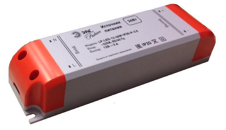 Блок питания ЭРАСветильники модульные<br>Назначение светильника: блок питания,<br>Длина (мм): 115,<br>Вес нетто: 0.135<br>