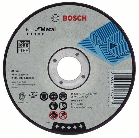 Best for metal 180 Х 2,5 Х 22, Круг отрезной
