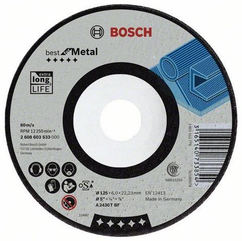 Best for metal 230 Х 7 Х 22, Круг зачистной
