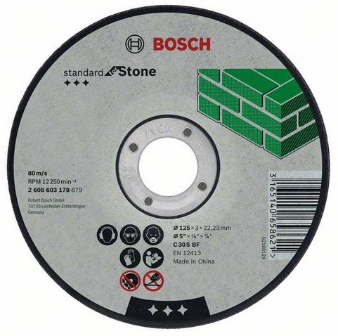 Standard for stone 115 Х 2,5 Х 22 по камню, Круг отрезной