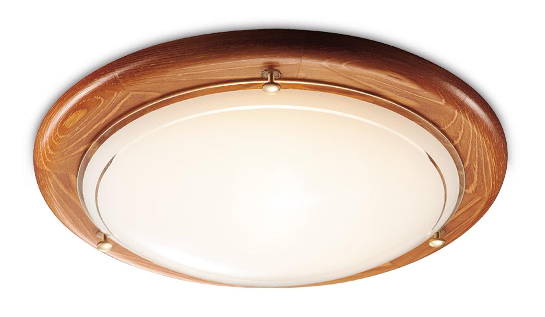 Светильник настенно-потолочный СОНЕКССветильники настенно-потолочные<br>Мощность: 100, Количество ламп: 1, Назначение светильника: для комнаты, Стиль светильника: модерн, Материал светильника: дерево, металл, Тип лампы: накаливания, Диаметр: 310, Патрон: Е27, Цвет арматуры: золото<br>