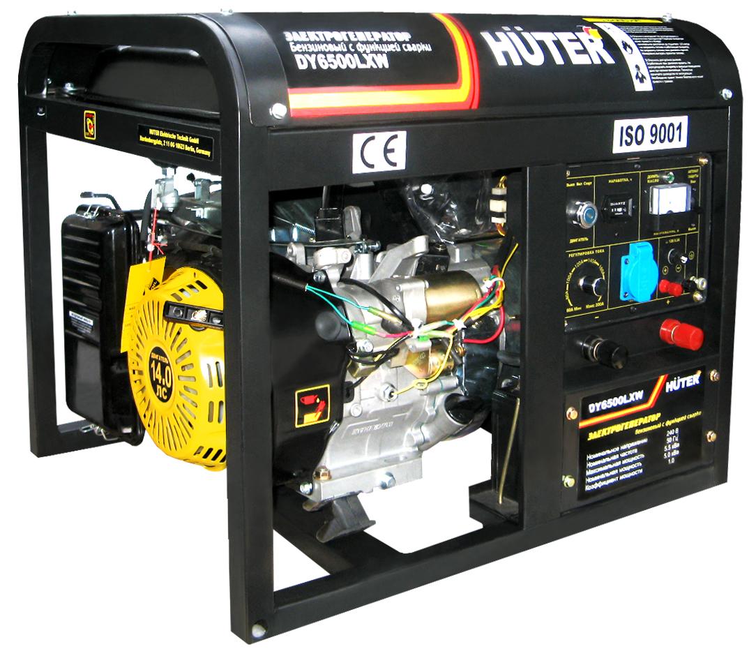 Бензиновый генератор Huter