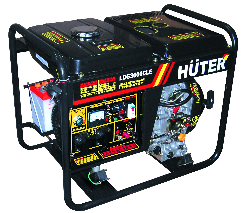 Дизельный генератор Huter от 220 Вольт