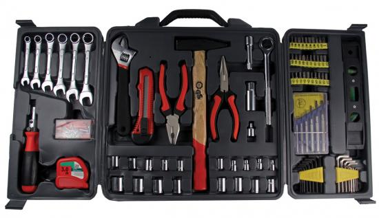 Набор инструментов в чемодане, 173 предмета Sturm!
