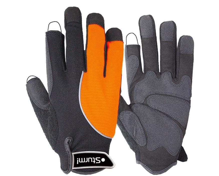 Перчатки ПВХ Sturm!Перчатки и рукавицы<br>Тип: перчатки, Тип перчаток: комби, Размер: 9 (L)<br>