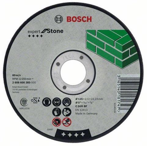 Фото 1/2 Expert for stone 125 Х 2,5 Х 22 по камню, Круг отрезной