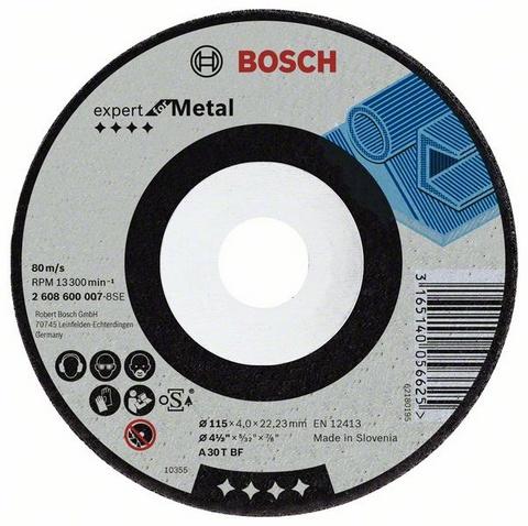 Фото 1/2 Expert for metal 125 Х 6 Х 22, Круг зачистной
