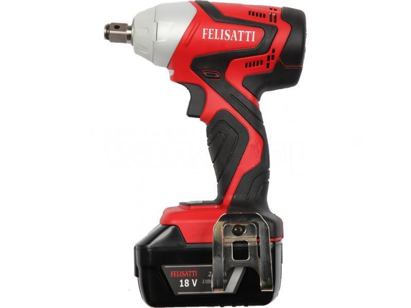 Аккумуляторный ударный гайковерт Felisatti Wd18il