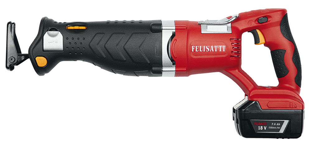 Аккумуляторная ножовка Felisatti Rs135/18l аккумуляторная 2110100100