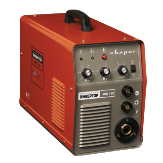 Сварочный полуавтомат СВАРОГСварочные аппараты<br>Макс. сварочный ток: 160, Мощность: 7400, Мощность полная: 7400, Напряжение: 220, Мин. входное напряжение: 196, Выходной ток: 30-160, Напряжение холостого хода: 53, Мин. диаметр проволоки: 0.6, Макс. диаметр проволоки: 0.9, Тип сварочного аппарата: инверторный, Тип сварки: полуавтоматическая (MIG/MAG), Инверторная технология: есть, Размеры: 480x230x360, Поставляется в: коробке, Вес нетто: 18<br>
