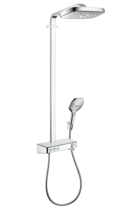 Душевая система Hansgrohe Raindance select e 300 2jet showerpipe 27127000