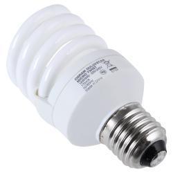 Лампа энергосберегающая OsramЛампы<br>Тип лампы: энергосберегающая,<br>Форма лампы: спираль,<br>Цвет колбы: белая,<br>Тип цоколя: Е27,<br>Напряжение: 220,<br>Мощность: 14,<br>Цветовая температура: 2700,<br>Цвет свечения: теплый<br>