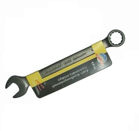 Ключ гаечный комбинированный 18х18 SkrabКлючи гаечные<br>Тип: комбинированный, Размер ключа минимальный: 18, Размер ключа максимальный: 18<br>