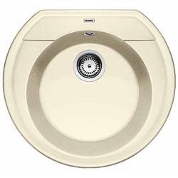Мойка кухонная из искусственного камня BlancoМойки кухонные<br>Тип установки кухонной мойки: врезной,<br>Материал изготовления кухонной мойки: камень,<br>Отверстие под смеситель: нет,<br>Форма кухонной мойки: круглая,<br>Количество чаш кухонной мойки: одна чаша,<br>Длина (мм): 535,<br>Ширина: 490,<br>Глубина: 180,<br>Цвет: жасмин,<br>Страна происхождения: Германия,<br>Диаметр сливного отверстия: 3 1/2<br>