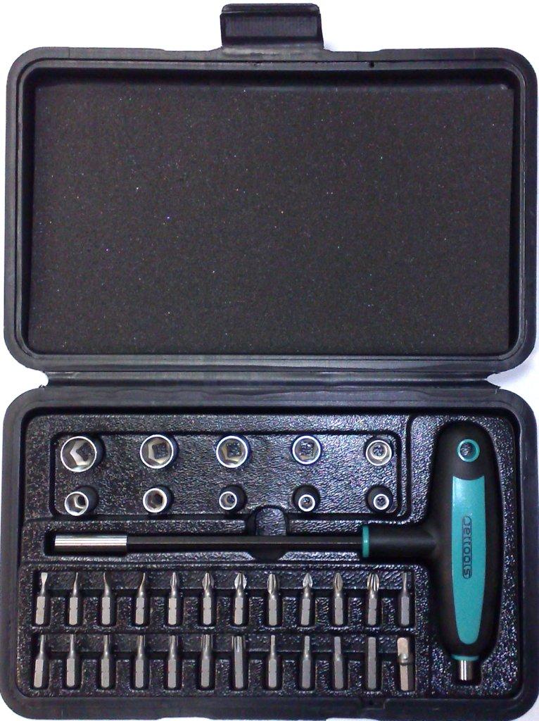 Набор инструментов в чемодане, 35 предметов Jettools