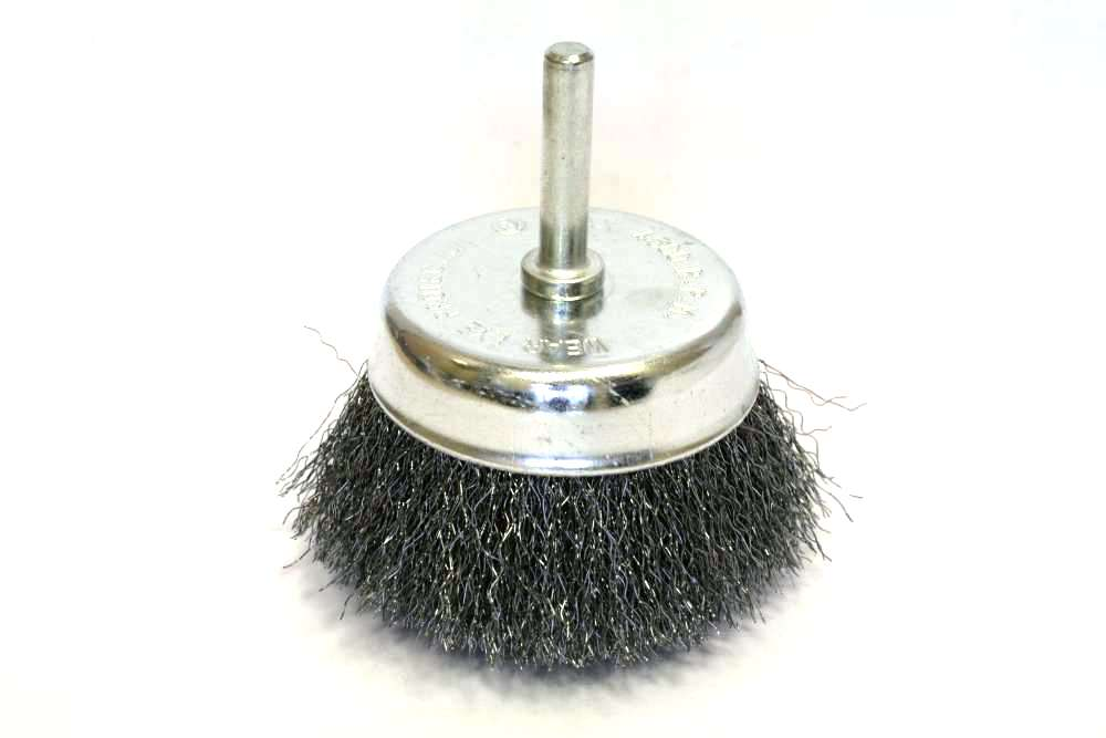 Фото 2/2 032-584 75мм, чашеобразная мягкая для дрели, Кордщетка
