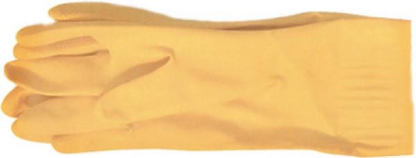Перчатки латексные FitПерчатки и рукавицы<br>Тип: перчатки, Тип перчаток: латексные, Размер: 9 (L), Цвет: желтый<br>
