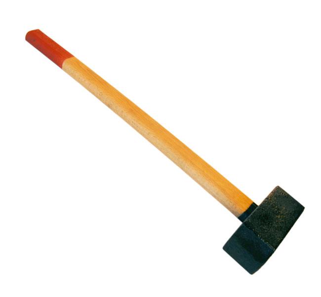 Кувалда SantoolМолотки ручные<br>Тип молотка: кувалда,<br>Форма бойка: квадрат,<br>Материал рукоятки: древесина,<br>Вес нетто: 7.5<br>