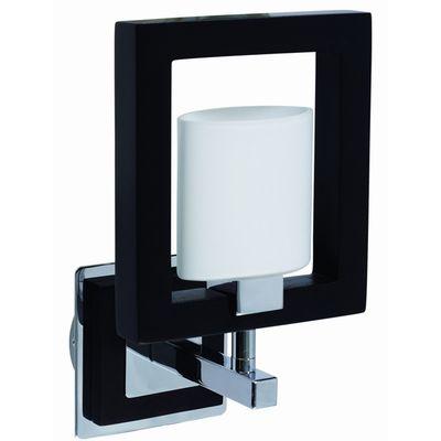 Бра LamplandiaНастенные светильники и бра<br>Тип: бра,<br>Назначение светильника: для комнаты,<br>Стиль светильника: кантри,<br>Материал светильника: металл, стекло,<br>Количество ламп: 1,<br>Мощность: 40,<br>Патрон: G9,<br>Цвет арматуры: черный,<br>Длина (мм): 140,<br>Ширина: 250,<br>Высота: 180,<br>Коллекция: best<br>