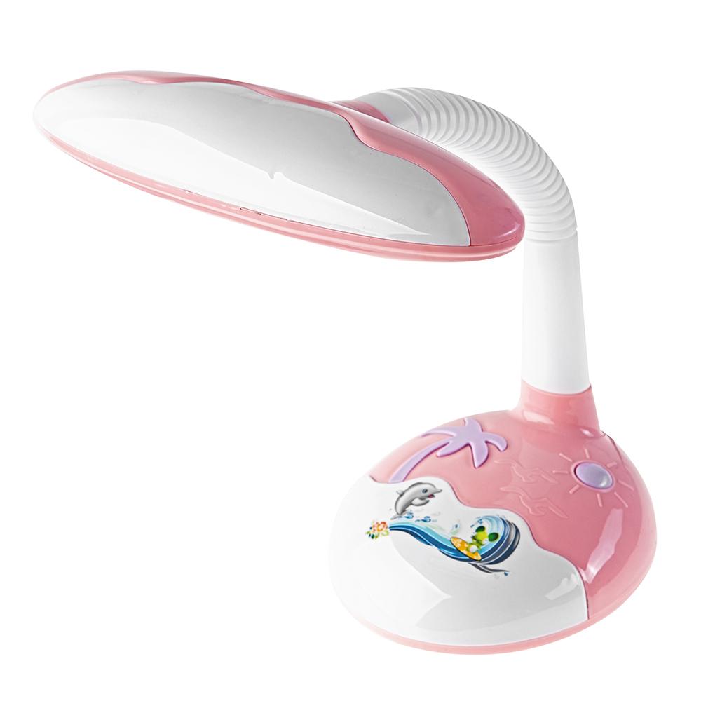 Лампа настольная ЭРАЛампы настольные<br>Тип настольной лампы: детская,<br>Назначение светильника: для детской комнаты,<br>Стиль светильника: современный,<br>Материал светильника: пластик,<br>Количество ламп: 1,<br>Тип лампы: энергосберегающая,<br>Мощность: 9,<br>Патрон: G23,<br>Цвет арматуры: цветной<br>