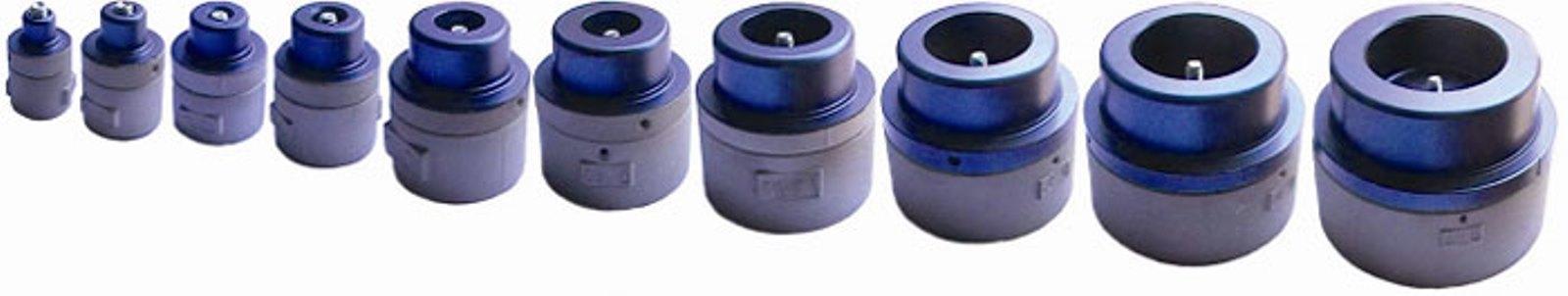Насадка парная для аппарата для сварки труб, 25 мм. Dytron