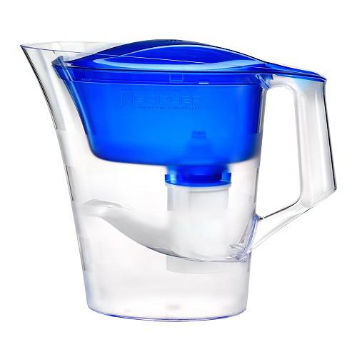 Фильтр для очистки воды БАРЬЕРФильтры для воды<br>Тип фильтра для воды: кувшин,<br>Назначение фильтра для воды: для питьевой воды,<br>Функциональные особенности фильтра для воды: для городской воды,<br>Подключение к водопроводу: Нет,<br>Температура: 40,<br>Скорость фильтрации: 0.3,<br>Материал: пластик,<br>Вес нетто: 0.7<br>