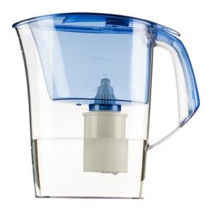 Фильтр-кувшин БАРЬЕРФильтры для воды<br>Тип фильтра для воды: кувшин,<br>Назначение фильтра для воды: для питьевой воды,<br>Функциональные особенности фильтра для воды: для городской воды,<br>Подключение к водопроводу: Нет,<br>Температура: 40,<br>Скорость фильтрации: 0.3,<br>Материал: пластик,<br>Вес нетто: 0.7<br>