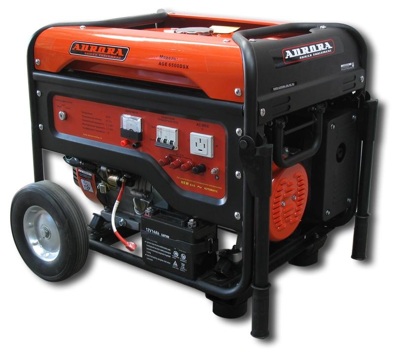 Бензиновый генератор Aurora