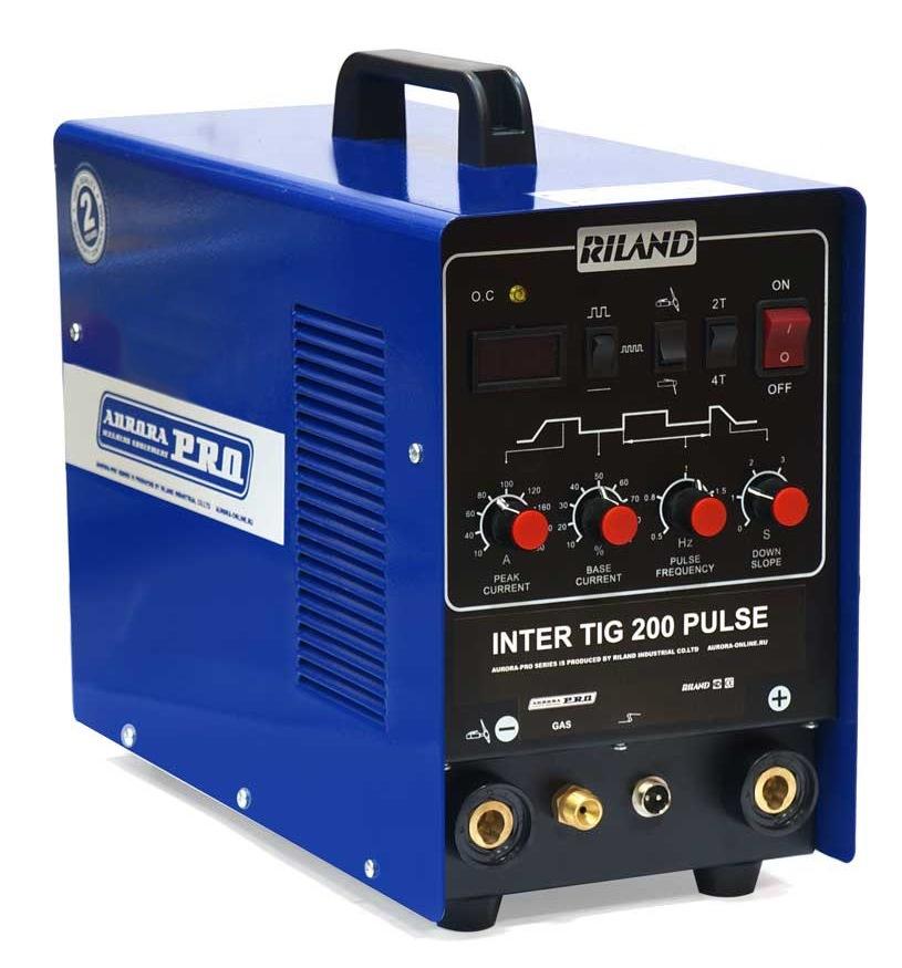 Сварочный инвертор Aurora pro Inter tig 200 pulse mosfet