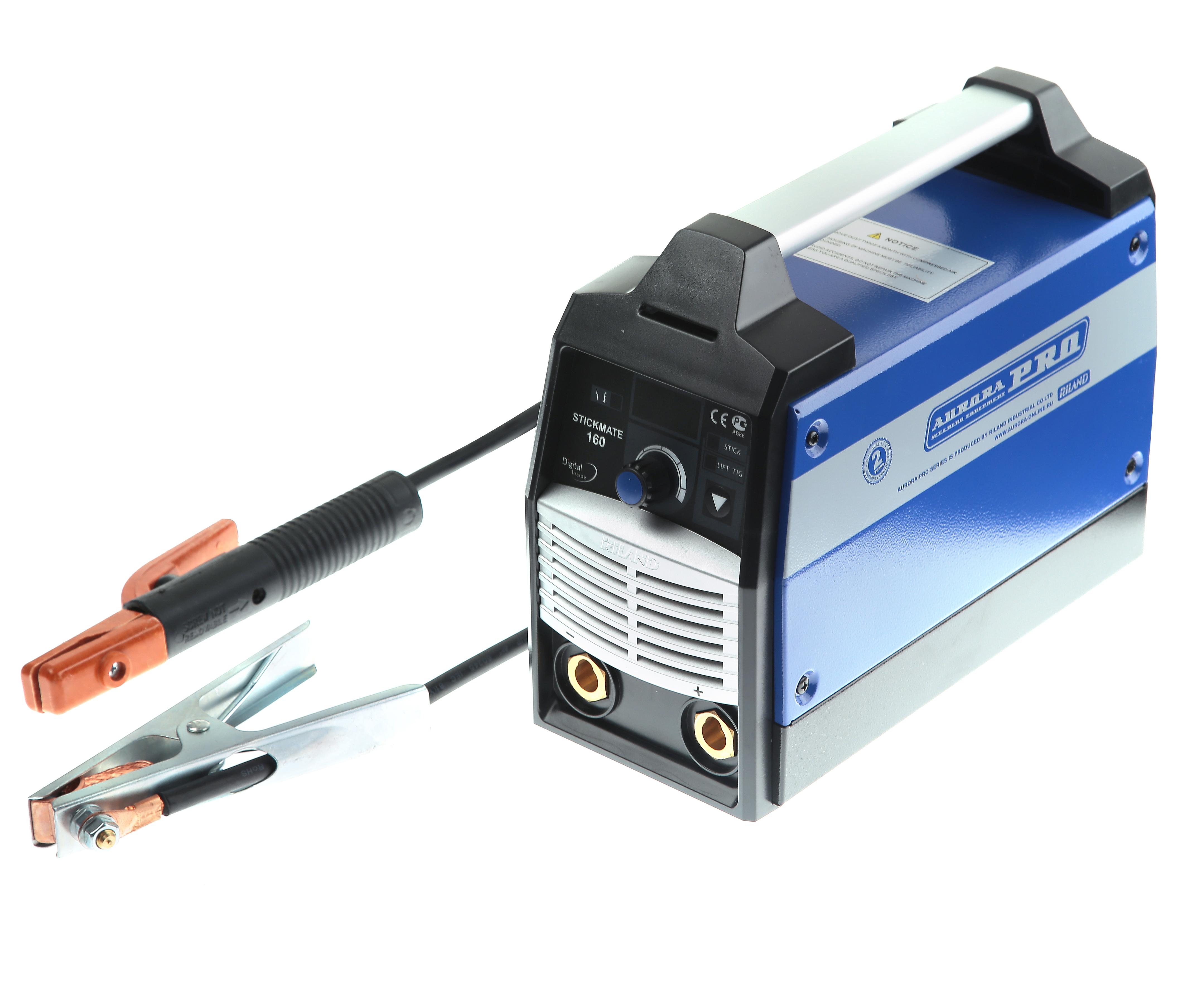 Сварочный инвертор Aurora proСварочные аппараты<br>Макс. сварочный ток: 160, Мощность: 7100, Мощность полная: 7100, Напряжение: 220, Мин. входное напряжение: 140, Выходной ток: 10-160, Напряжение холостого хода: 64, Потребляемый ток: 32, Мин. диаметр электрода: 0.9, Макс. диаметр электрода: 4, Тип сварочного аппарата: инверторный, Тип сварки: дуговая (MMA+TIG), Инверторная технология: есть, Размеры: 288x136x234, Поставляется в: коробке, Вес нетто: 4.8<br>