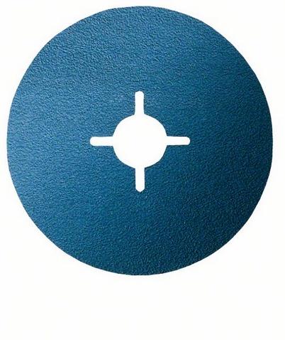 125мм p60, Круг фибровый
