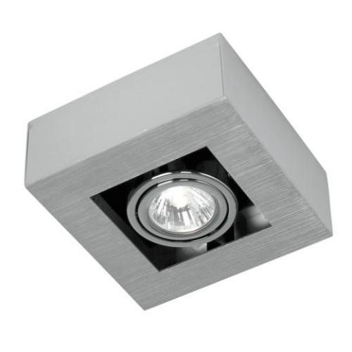 Светильник настенно-потолочный EgloСветильники настенно-потолочные<br>Мощность: 35,<br>Количество ламп: 1,<br>Назначение светильника: для комнаты,<br>Стиль светильника: модерн,<br>Материал светильника: металл,<br>Тип лампы: галогенная,<br>Длина (мм): 140,<br>Ширина: 140,<br>Патрон: GU10,<br>Цвет арматуры: хром<br>