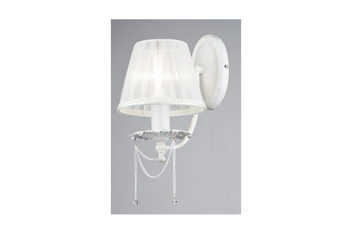 Бра MaytoniНастенные светильники и бра<br>Тип: бра, Назначение светильника: для гостиной, Стиль светильника: классика, Материал светильника: металл, ткань, Тип лампы: накаливания, Количество ламп: 1, Мощность: 40, Патрон: Е14, Цвет арматуры: золото, Высота: 300, Диаметр: 150, Коллекция: arm305<br>