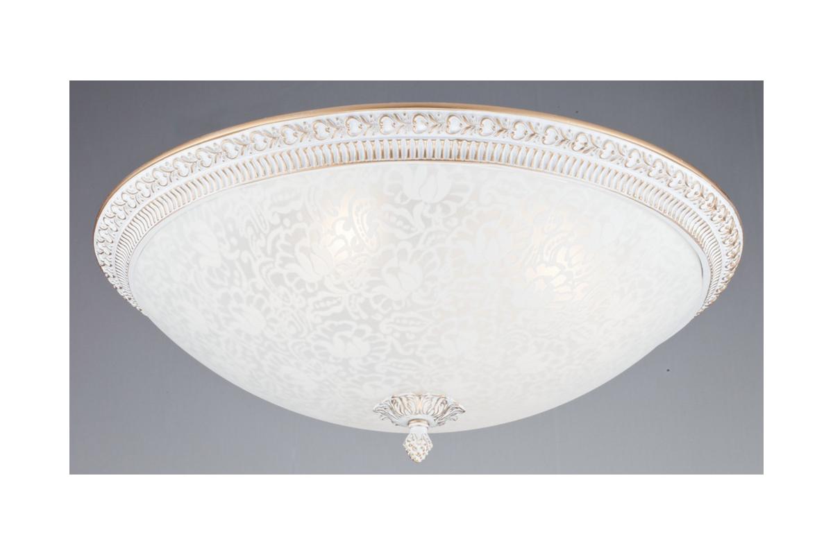 Светильник настенно-потолочный MaytoniСветильники настенно-потолочные<br>Мощность: 40,<br>Количество ламп: 4,<br>Назначение светильника: для гостиной,<br>Стиль светильника: классика,<br>Материал светильника: металл, стекло,<br>Тип лампы: накаливания,<br>Высота: 160,<br>Диаметр: 470,<br>Патрон: Е14,<br>Цвет арматуры: золото<br>