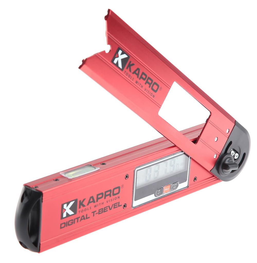 Угломер электронный KaproУгломеры и уклономеры<br>Тип: угломер, Тип угломера: электронный, Длина (мм): 300, Погрешность измерения: ±0,1<br>
