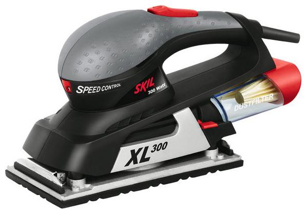 7380 la xl300, Машинка шлифовальная плоская (вибрационная)