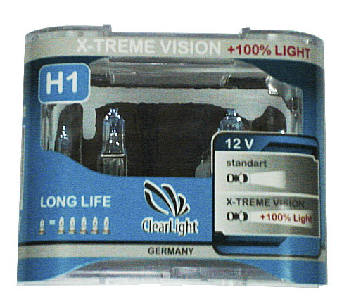 Clearlight Mlh1xtv120 x-treme vision +120% light