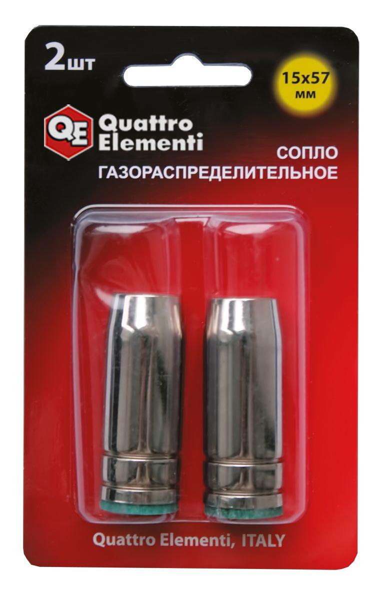 Сопло Quattro elementiГазосварочные принадлежности<br>Тип газа/топлива: универсальный, Тип: сопло<br>