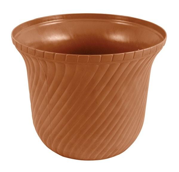 Поддержка для растений FitКашпо, горшки, ящики для растений<br>Тип: кашпо,<br>Материал: пластмасса,<br>Тип установки: настольный,<br>Объем: 12,<br>Цвет: коричневый,<br>Для помещения: есть,<br>Форма кашпо: под горшок<br>