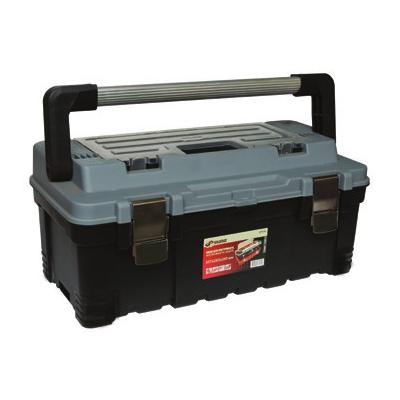 Ящик для инструментов SkrabЯщики и кейсы<br>Назначение: для ручного инструмента,<br>Форм-фактор: ящик(кейс),<br>Длина (мм): 557,<br>Ширина: 283,<br>Высота: 245,<br>Материал: пластик<br>
