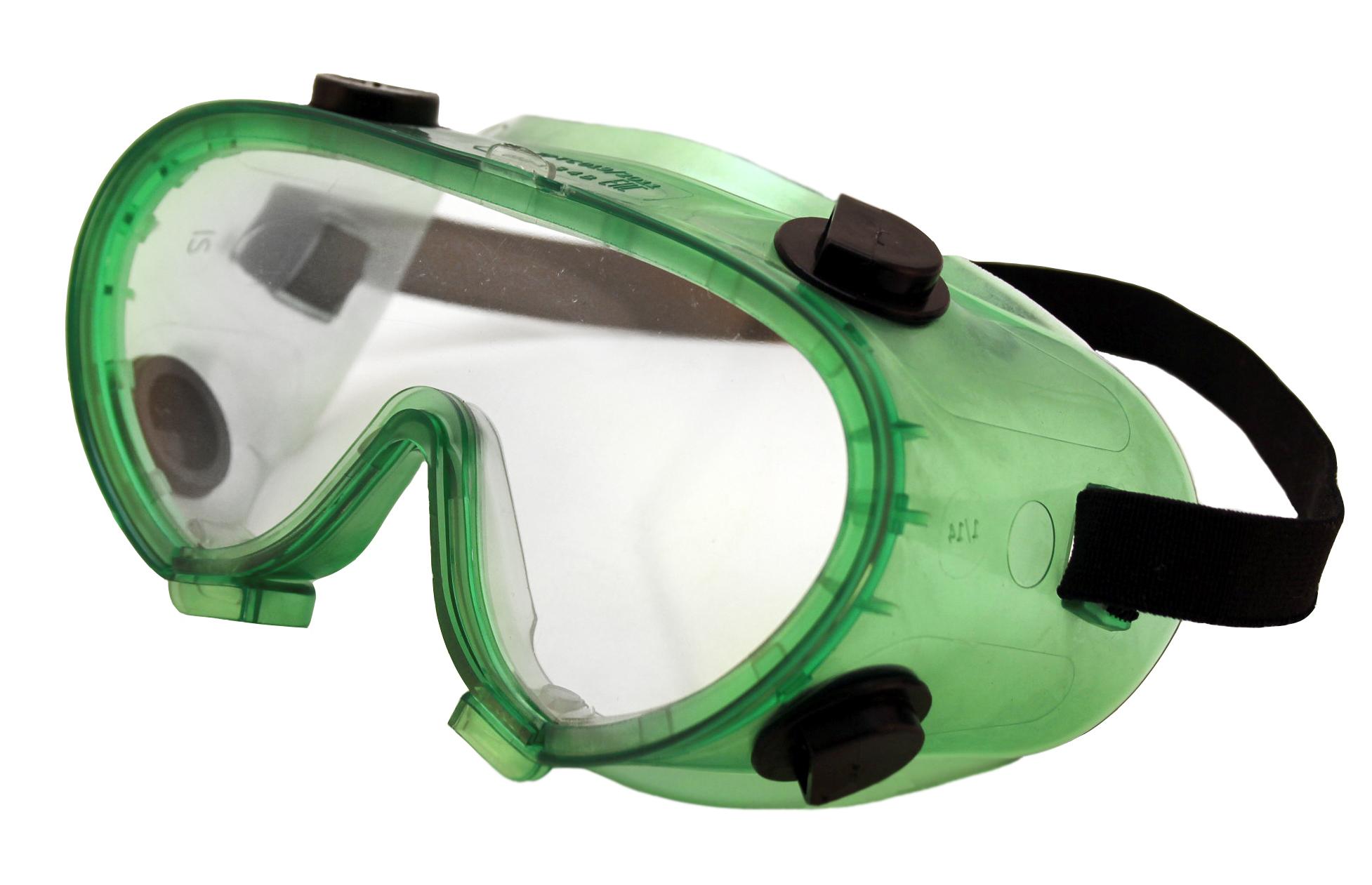 Очки защитные ИСТОК защитные с непрямой вентиляцией ОЧК401